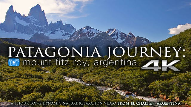PATAGONIA JOURNEY (no Music) 1HR Dyna...