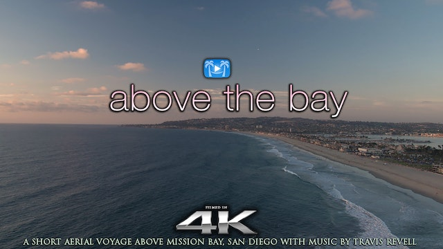 Above the Bay 5 MIN Aerial Film +Musi...