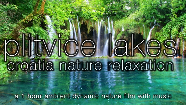 Waterfall Paradise Piltivice (w Music...