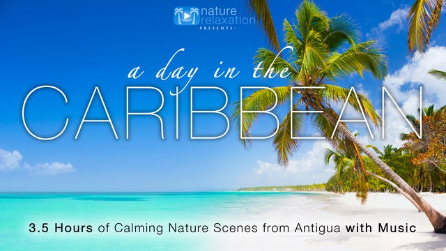 A Day in the Caribbean  (+Music) 3.5HR Dynamic Film from Antigua