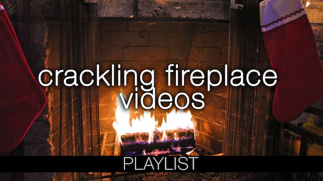 Crackling Fireplace Videos