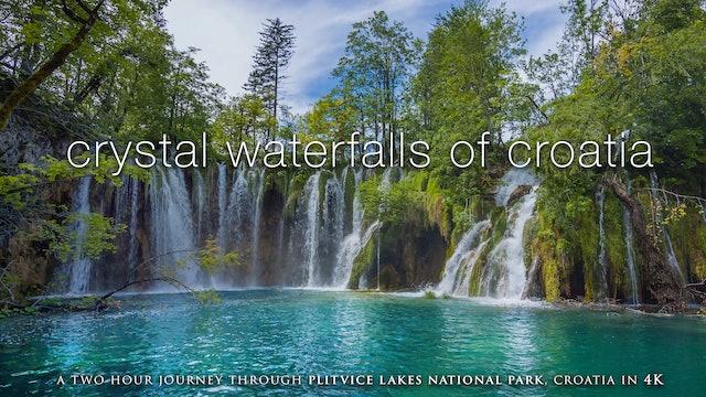 Crystal Waterfalls of Croatia (4K) Plitvice Lakes Natl Park Dynamic Nature Film