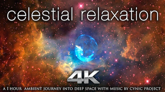Celestial Relaxation | 1 HR Dynamic Nature Relaxation Space Video