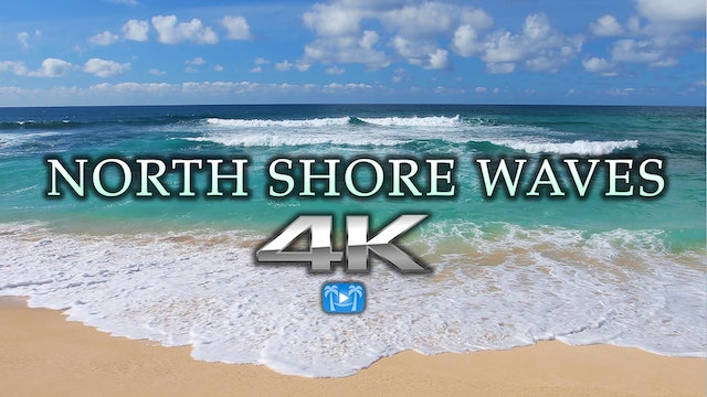 North Shore Waves Oahu 1 HR Nature Relaxation HD