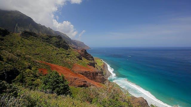 Napali Coast Waves II - 1HR Static Na...