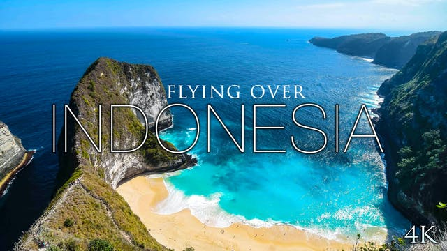 Flying Over Indonesia 30 Minute Aeria...