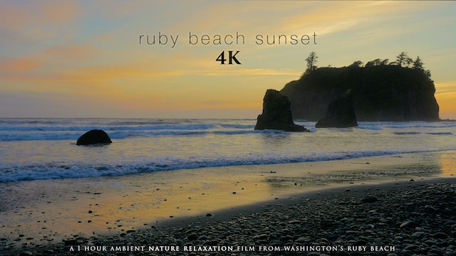 Ruby Beach Sunset 4K 1 Hour Dynamic N...
