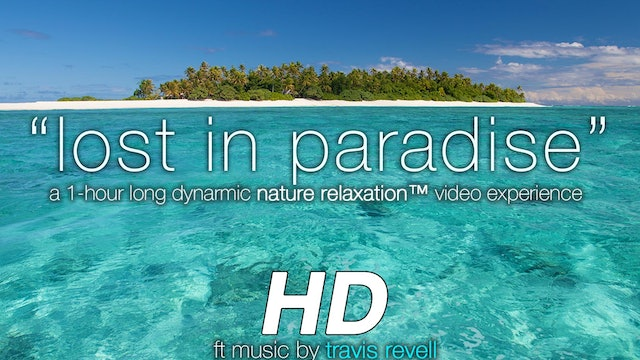 """Lost in Paradise"" (w music) 1 HR Dynamic Video"