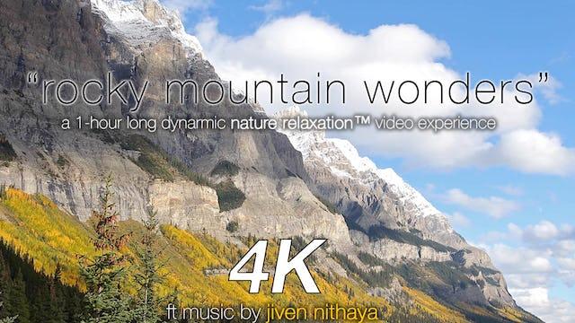 Rocky Mountain Wonders 1 HR Dynamic Video w Music