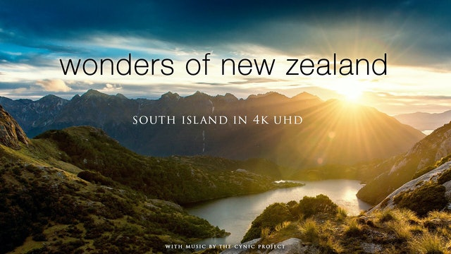 Wonders of New Zealand (+Music) South Island 1HR Dynamic Film