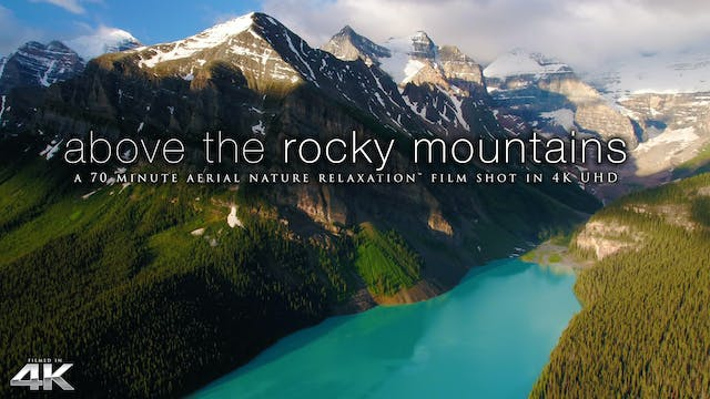 Above the Rocky Mountains of Canada 7...