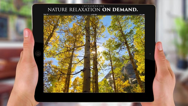 Nature Relaxation™ On-Demand + Apps Trailer