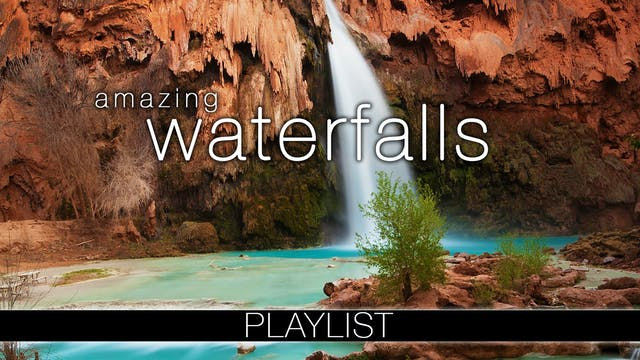 Amazing Waterfall Nature Relaxation Films