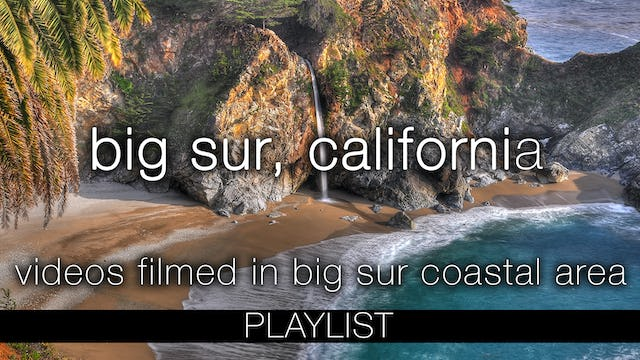 Big Sur. California Videos