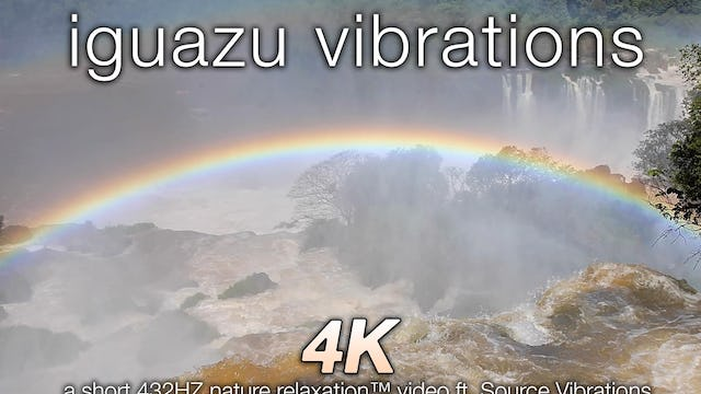 Iguazu Vibrations 1080p Nature Relaxation
