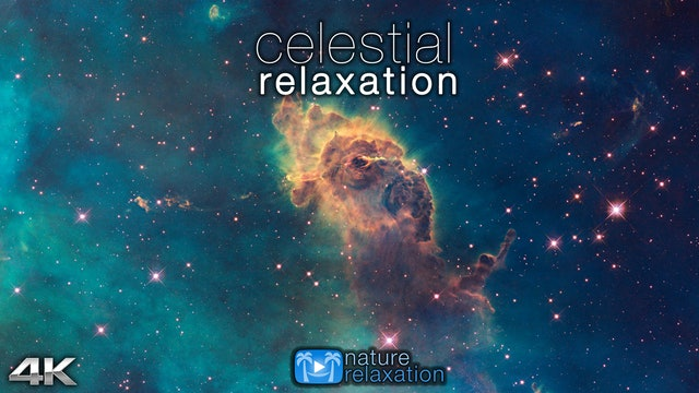Celestial Relaxation 1HR Film + Space Sounds/Music