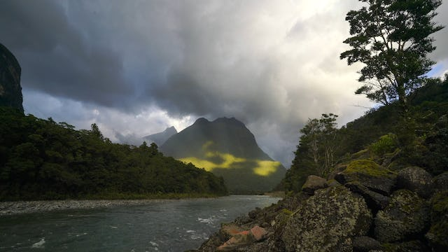 """Milford Sound Relaxation"" w Music Dynamic 30 Min New Zealand Nature Relaxation Video"