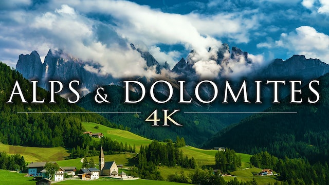 Alps & Dolomites 5 Minute Nature Relaxation Teaser 4K