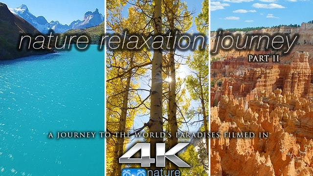 Nature Relaxation Journey in 4K (with...