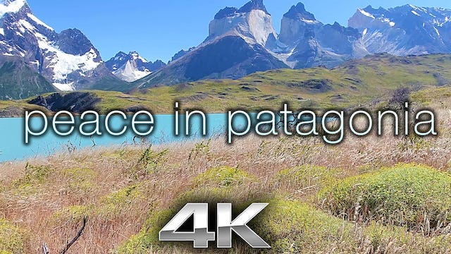 Peace in Patagonia (W Music) 10 Minute Dynamic Relaxation Video