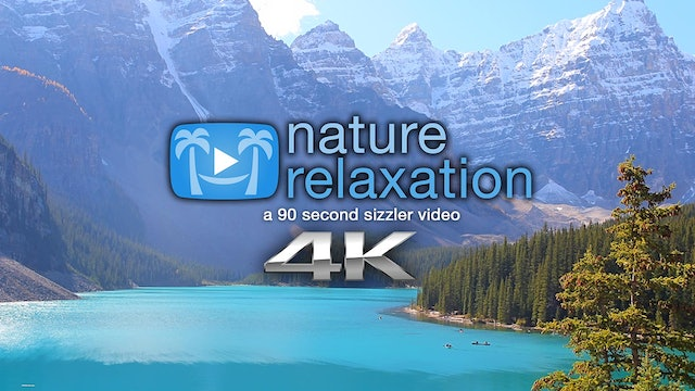 """Peaceful Relaxation"" 90 Second Relaxation Video Shot in 4K"