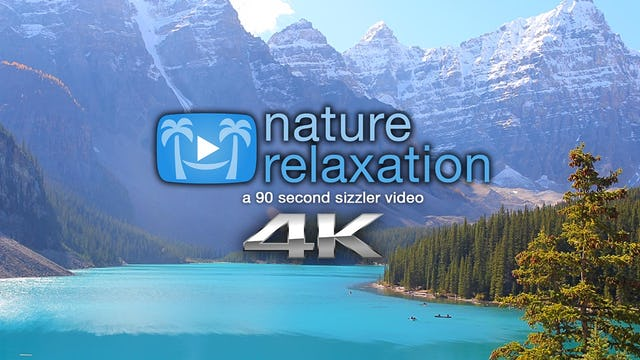 """""""Peaceful Relaxation"""" 90 Second Relaxation Video Shot in 4K"""