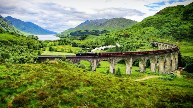 Flying Over Scotland: Highlands Drone...