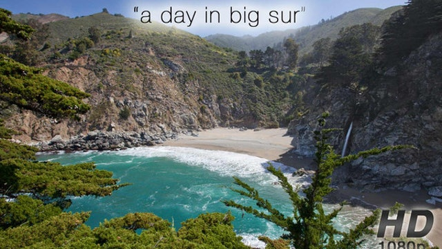 A Day in Big Sur 2 HR Nature Relaxation Video