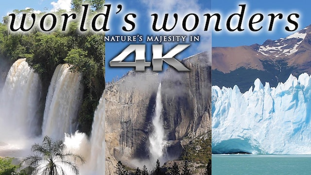 """World's Wonders"" 1 HR Dynamic Nature Relaxation Video w Music"