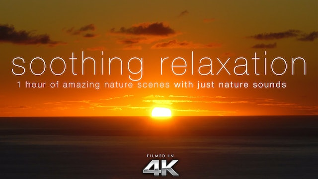 Soothing Relaxation 1HR Dynamic Video + Music
