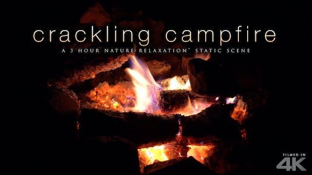 Crackling Campfire 3 HR Nature Relaxa...