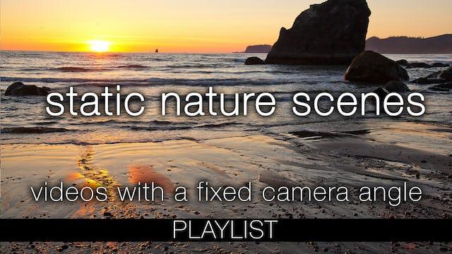 STATIC (Fixed Angle) Nature Scenes