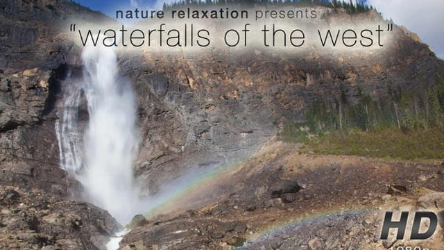 Waterfalls of the West 1080p 10 Minute Video w/ Music