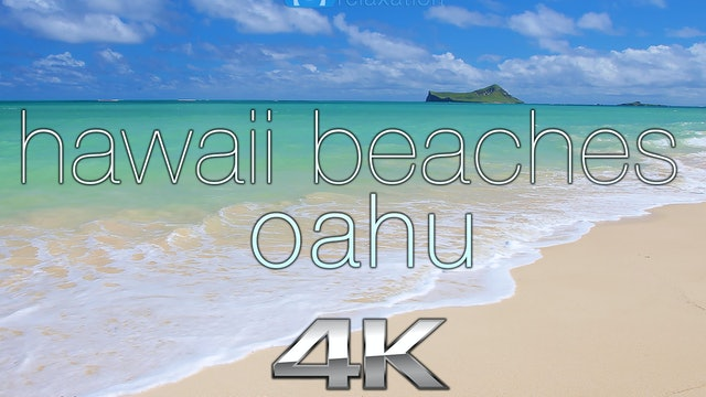 Hawaii Beaches: Oahu 90 Minutes Dynamic Nature Relaxation Video