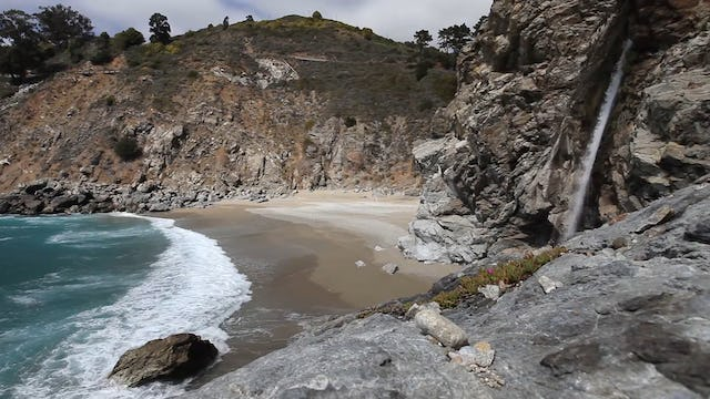 McWay Falls, Big Sur 45 Min Dynamic Nature Relaxation Video 1080p