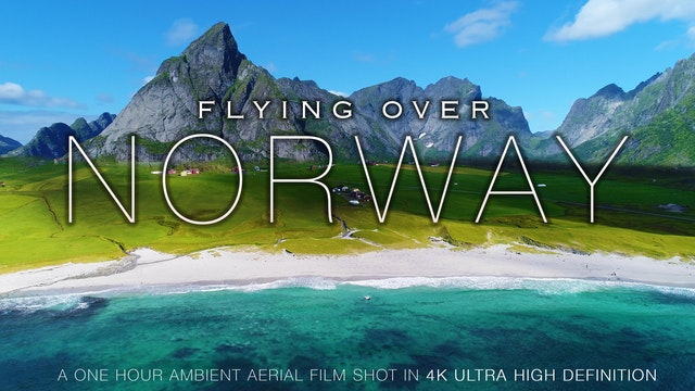 Flying Over Norway 1HR Signature Dron...