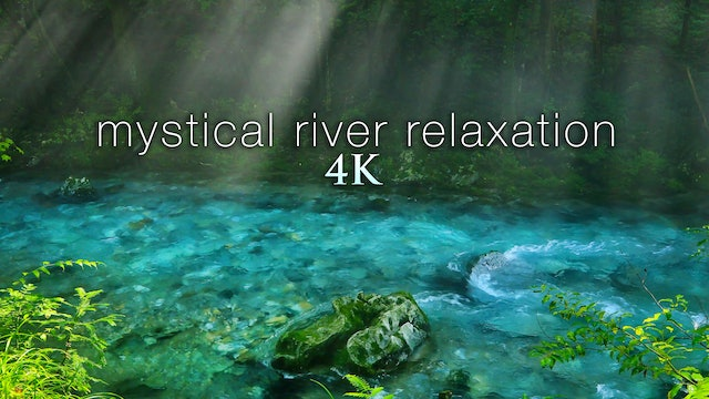Mystical River Relaxation - Japan 1HR Dynamic Nature Film + Nature Sounds in 4K