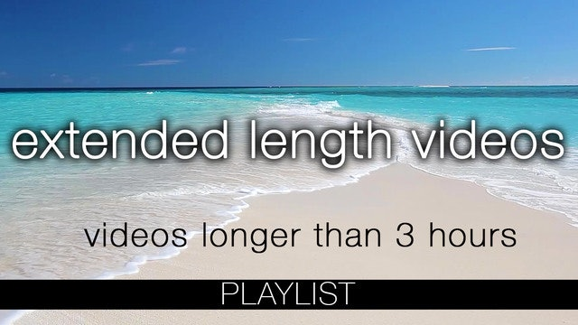 Extended Length Videos Longer than 2 Hours