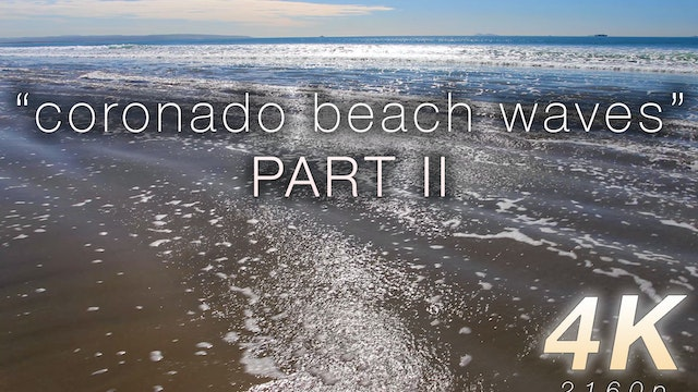Coronado Beach Waves Part II 1 HR Sta...