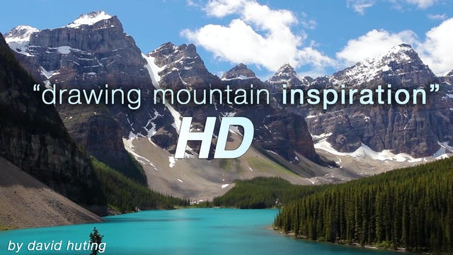 Drawing Mountain Inspiration Short Uplifting Nature + Music Video
