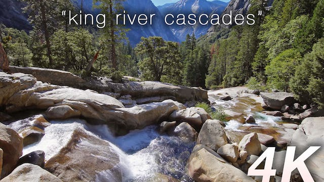 King River Cascades 1 HR Static Nature Video