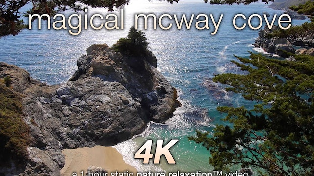 Magical McWay Cove Nature Relaxation Video 1080p