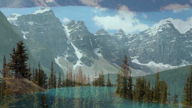 Moraine Lake Clouds 1080p 2 Min V2