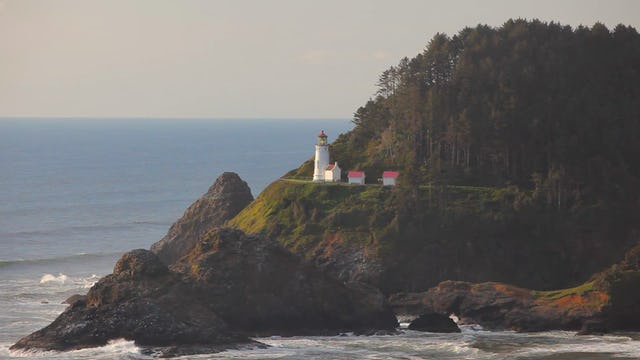 Oregon Lighthouse 1080p