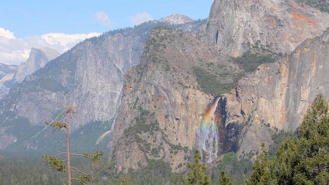 Rainbow Waterfall 1080p