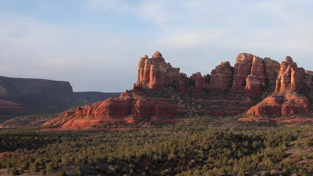 Red Rocks of Sedona Sunset 1080p w music