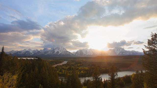 Snake River Sunset 1080p