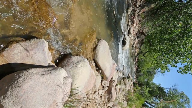 Virgin River Flowing - South View HD 60FPS 15 Minutes Real-Time Scene