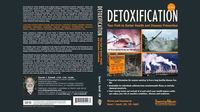 Detoxification: Better Health & Disease Prevention