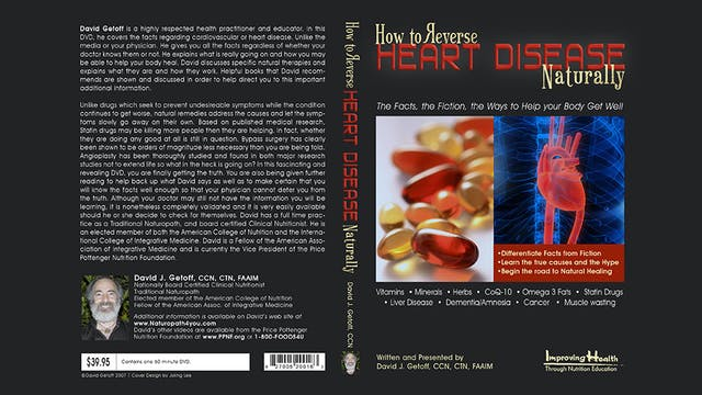 Heart Disease:  How to Reverse Heart Disease Naturally